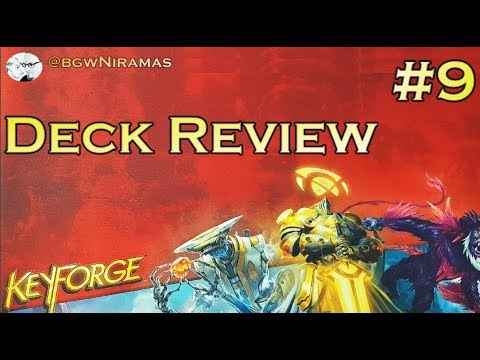 Keyforge: Deck Review #9 - Not that impressed!