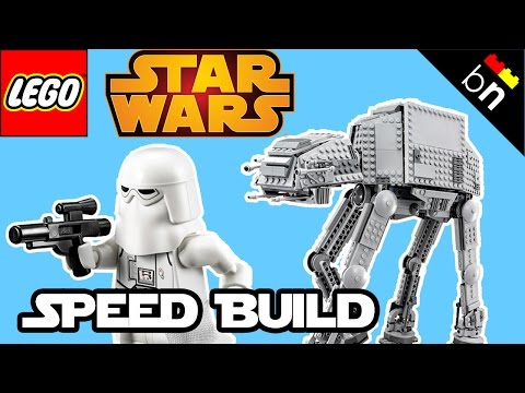 Vidéo LEGO Star Wars 75054 : AT-AT