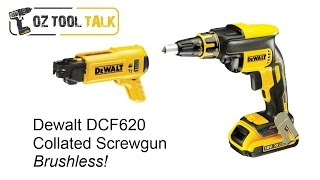 Dewalt 18V DCF620 - Brushless Collated Screwgun Detailed Review