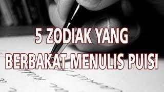 5 Zodiak yang Paling Berbakat Menulis Puisi