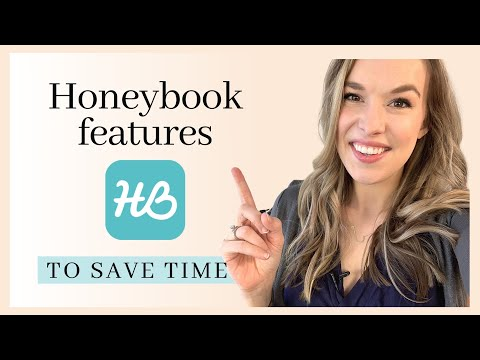 , title : '5 Time-Saving Honeybook Features!
