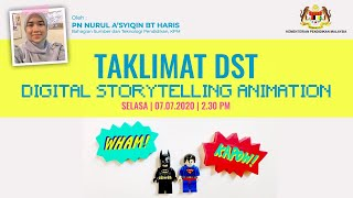 Taklimat Pertandingan Digital Storytelling Animation 2020