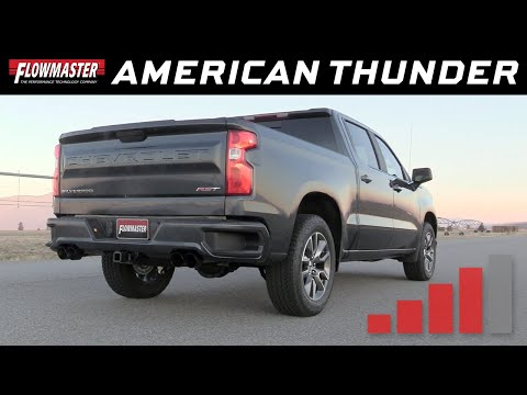 2019-20 GM Silverado/Sierra 1500 5.3L - American Thunder Cat-Back Exhaust System 817895
