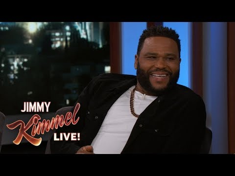, title : 'Anthony Anderson on Friendship with Prince & 100th Episode of Blackish'