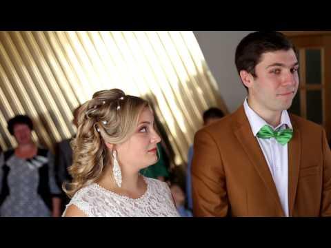 """Свадьба мечты: """"Он предложил мне выйти за него замуж и я согласилась"""". Веселый свадебный клип."""