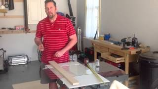 Tutorial - How To Cut Glass at Home