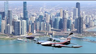 AERIAL Photo Shoot Over Chicago and O'Hare!