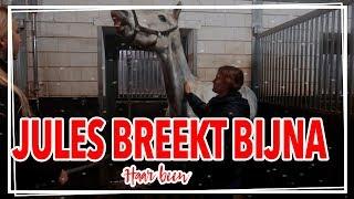 Jules BREEKT bijna haar BEEN......?! ||Vlogmas
