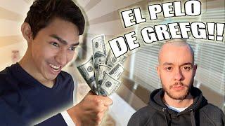 INTENTANDO COMPRAR EL PELO DE GREFG!!