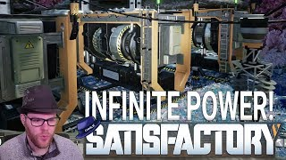 Satisfactory: 'New World' - Part 08 - INFINITE POWER! - Satisfactory Gameplay
