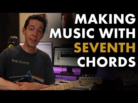 How To Write Progressions using min7, maj7, and Dominant 7th chords [Songwriting - Music Theory]
