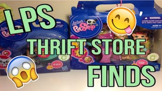 I FOUND OLD LPS IN BOX 2017?! | LPS THRIFT STORE FINDS #1