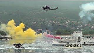 Показна вежба на единиците на МВР во Охрид