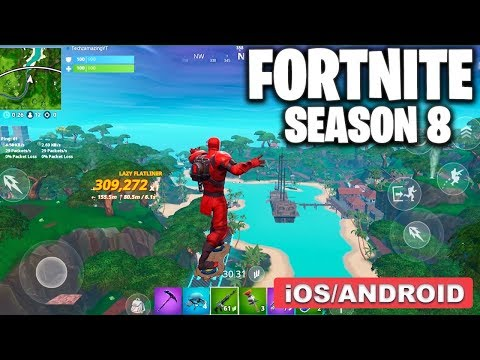 , title : 'FORTNITE MOBILE SEASON 8 - GAMEPLAY ( ANDROID/iOS )'