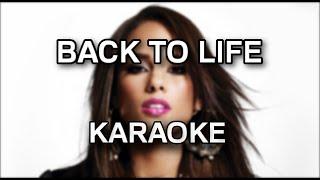 Alicia Keys - Back to life [karaoke/instrumental] - Polinstrumentalista