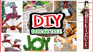 Dollar Tree Christmas DIYs 2019