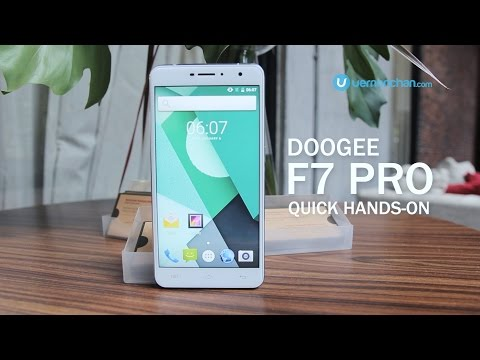 Doogee F7 Pro hands-on first impressions