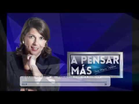 A PENSAR MÁS CON ROSA MARÍA PALACIOS 11/12/19