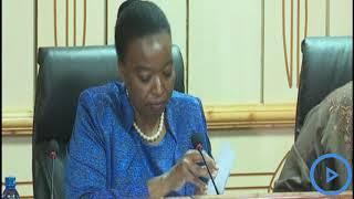 CS Juma briefs Parliamentary Defense Committee on the Somali-Kenya