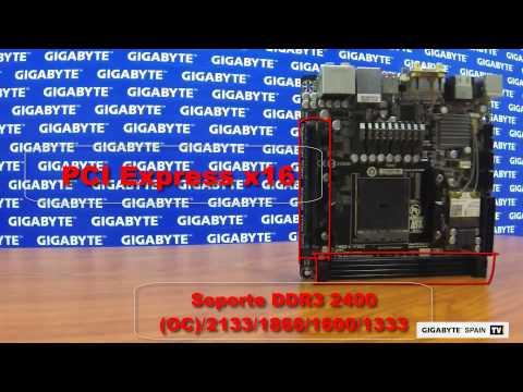 Analisis de la placa base mini-ITX GA-F2A88XN-WIFI con la APU A10 7850K KAVERI de AMD