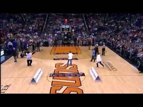 Top 10 NBA Fans Half Court Shots