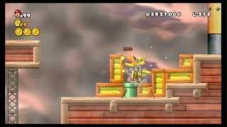 Newer Super Mario Bros Wii Summer Sun Walkthrough Part 5 World