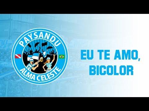 """""""Banda Alma Celeste - Eu te amo, BICOLOR. [MÚSICA NOVA]"""" Barra: Alma Celeste • Club: Paysandu"""