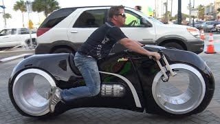 Tron Bike & Most Expensive Custom Motorcycles