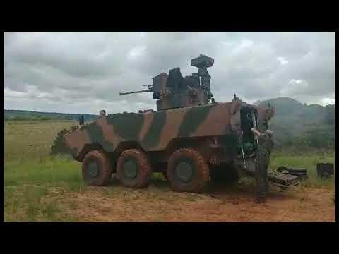 Guarani 6x6 Escola de Fuego UT30 BR (ATK BushMaster MK44)