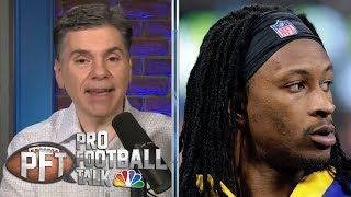 How will DeAndre Hopkins, Todd Gurley fare with new teams? | Pro Football Talk | NBC Sports