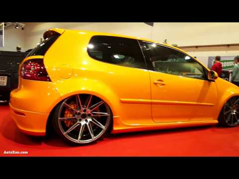 Volkswagen Golf 5 Orange 2006 Tuning 2.0 TDI 140ps, HP Drivetech, Lexani SCC16 & Verde Quantum R20