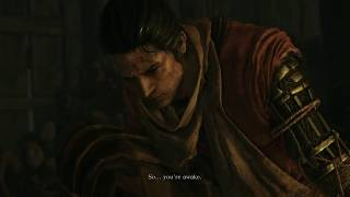 Sekiro: Shadows Die Twice - Dilapidated Temple: Rot Essence Sculptor Has Dragonrot Cutscene (2019)