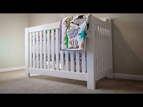 How to Build a Crib for the Nursery!   DIY Woodworking