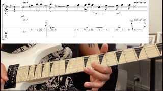 How To Play 'So Far Away' By Avenged Sevenfold Guitar Solo Lesson W/tabs Pt1