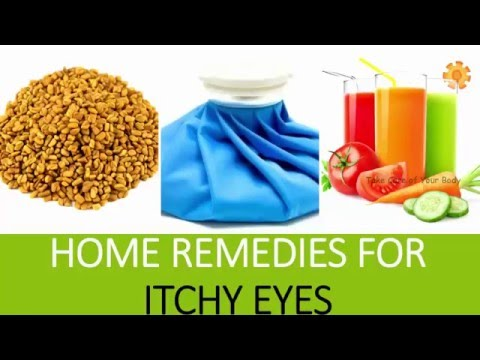 Video Home Remedies for Itchy Eyes | Tips for Treating Eye Allergies | Natural Remedies for itchy eyes