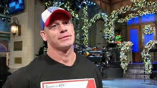 """John Cena discusses the impact and expectations of hosting """"Saturday Night Live"""""""