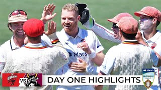 Bulls out cheaply as Redbacks rediscover red-ball form | Sheffield Shield 2021-22