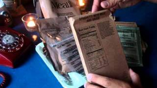 MRE Review: Menu No.20 Spaghetti With Meat And Sauce (During Hurricane Irene Power Outage)