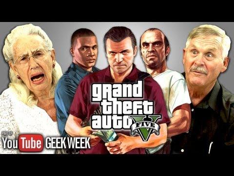Důchodci reagují na Grand Theft Auto V