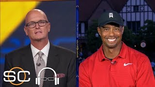 Tiger Woods describes emotions after winning Tour Championship | SC with SVP | ESPN | Kholo.pk