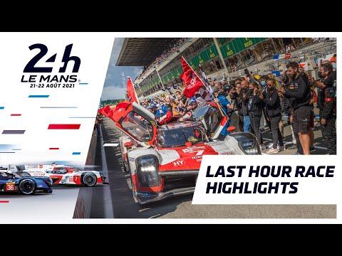 ル・マン24時間 決勝レースのラスト1時間のハイライト動画