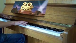 """""""20th Century Fox Fanfare"""" Piano Cover"""