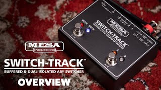 Mesa Boogie Switch-Track Buffered & Dual Isolated ABY Switcher Video