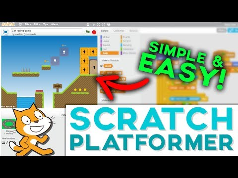 Scratch Tutorial: Platformer Game! (Get featured 2017) – Updated