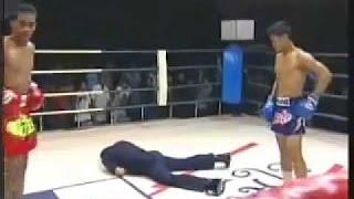 Драки на ринге с судьями, до боя и после!