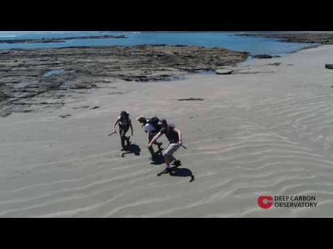 Biology Meets Subduction in the Forearc: Drone view