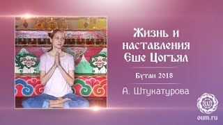 Жизнь и наставления Еше Цогъял. Александра Штукатурова. Бутан, 2018