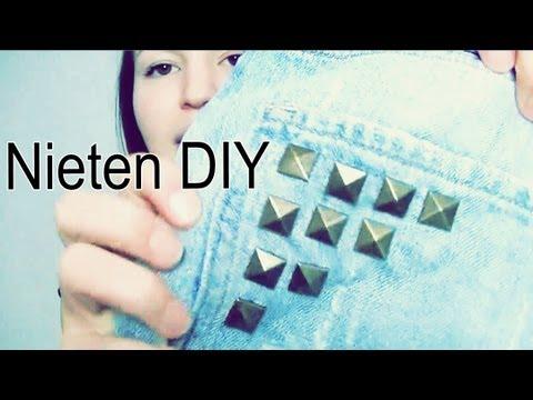 "Nieten DIY ""Kleidung aufpimpen"" - Tutorial - DIY   Lena's Lifestyle"