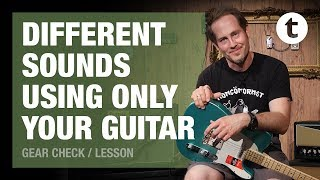Different Sounds Using Only Your Guitar | Effects Without Pedals | Tutorial | Lesson | Thomann