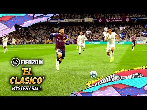 FIFA 20 EL CLASICO! REAL MADRID vs BARCELONA! *NEW MYSTERY BALL MODE*